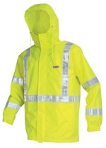 River City Luminator Class 3 Hi-Vis Lime Breathable Jacket-Large