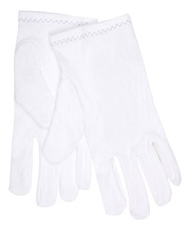 Memphis Regular Stretch Nylon 2 Piece Reversible Inspectors Gloves-Small