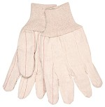 Memphis Nap-In Double Palm 18oz Cotton Blend Gloves-Straight Thumb-Large