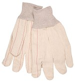 Memphis Nap-In Double Palm Corded Cotton Blend Gloves-Large