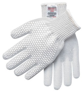 Memphis Steelcore II Regular Weight Right Hand Glove-PVC Blocks-7 Gauge-Small