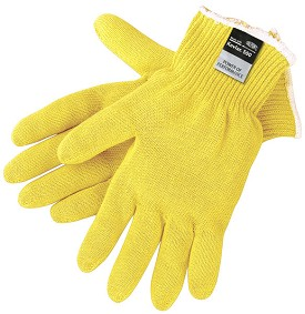 Memphis Medium Weight String Knit Kevlar Glove-10 Gauge-Large