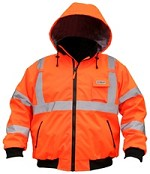 River City Luminator Class 3 Insulated Hi-Vis 2in1 Jacket-5XLarge