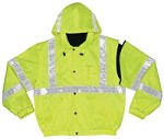 River City Luminator Class 3 Insulated Hi-Vis 4in1 Jacket-4XLarge