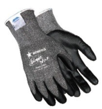 Memphis Ninja Max Dyneema Synthetic Black Coated Glove-10 Gauge-XLarge