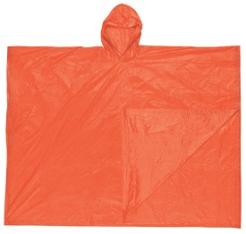 "River City Schooner Poncho-Orange-52"" x 80"""