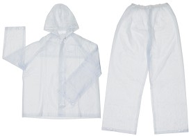 River City Squall Clear 2pc Suit-Large