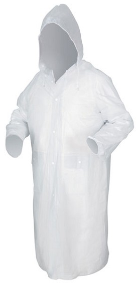 "River City Squall Clear 49"" Coat-XLarge"