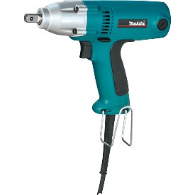"Makita 1/2"" Impact Wrench with Detent Pin Anvil"
