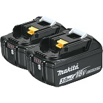 Makita 18V LXT Lithium-Ion 3.0Ah Battery - 2 pk.