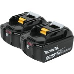 Makita 18V LXT Lithium-Ion 5.0Ah Battery - 2 pk.