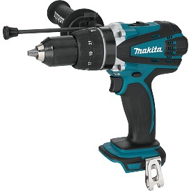 "Makita 18V LXT Lithium-Ion Cordless 1/2"" Hammer Driver Drill - Bare Tool"