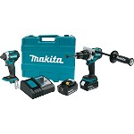 Makita 18V 5.0Ah LXT Lithium-Ion Brushless Cordless Combo Kit - 2 pc.