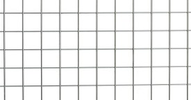 "Metro 33 x 36"" Grid Panel for Perf Table with Overhead"