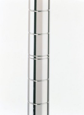 "Metro 74-5/8"" Mobile Super Erecta SiteSelect Posts-Chrome"
