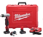 Milwaukee M12 Cordless Lithium-Ion ProPEX Expansion Tool Kit