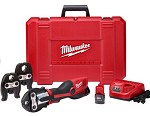 Milwaukee M12 Force Logic Press Tool Kit