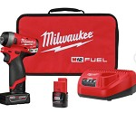 Milwaukee M12 Fuel Stubby 1/4