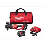 Milwaukee M18 Fuel Hole Hawg Right Angle Drill with Quik-Lok Kit