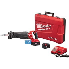 Milwaukee M18 Fuel Sawzall Reciprocating Saw with One-Key Kit
