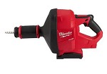 Milwaukee M18 Drain Snake with Cable-Drive Locking Feed System Kit