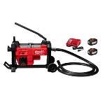 Milwaukee M18 Fuel Sewer Sectional Machine with Cable Drive