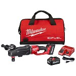 Milwaukee M18 Fuel Super Hawg Right Angle Drill with Quik-Lok Kit