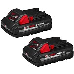 Milwaukee M18 RedLithium High Output CP3.0 Battery - 2 pk.
