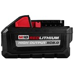 Milwaukee M18 RedLithium High Output XC8.0 Battery Pack