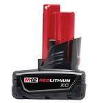 Milwaukee M12 XC High Capacity RedLithium 12V Battery