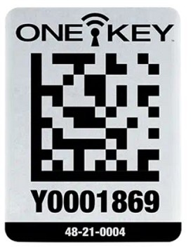 Milwaukee One-Key Asset ID Tag with Large Metal Surface - 25 pk.