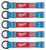 Milwaukee 2 lb D-Ring Web Attachment - 5 pk.