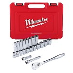 Milwaukee 22 pc 1/2
