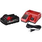 Milwaukee M18 RedLithium High Output CP3.0 Battery Starter Kit