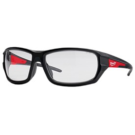 Milwaukee Clear Lens Performance Safety Glasses in Polybag