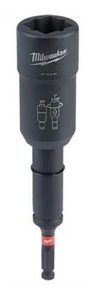 Milwaukee Shockwave Lineman's 3-in-1 Transmission Utility Socket