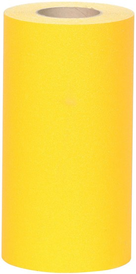 "NMC 4"" x 60 ft Yellow Safety Track Anti-Slip Grit Tape"