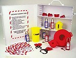 NMC Lockout Tagout Center Cabinet Kit