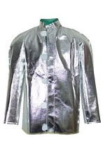 NSA 19 oz. Aluminized OPF/Para-Aramid Short Coat-Large