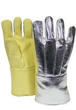 NSA Aluminized Thermobest Back-12 oz. Knitted Wool/Cotton Liner-Large Glove