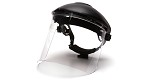 Pyramex S1210 Polycarbonate Cylinder Face Shield