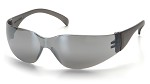 Pyramex Intruder Silver Mirror Lens and Frame Safety Glasses - 12 pk.