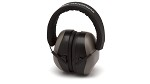 Pyramex VentureGear VG80 Series NRR 26dB Gray Earmuffs in Clamshell Package