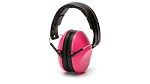 Pyramex VentureGear VG90 Series NRR 22dB Pink Earmuffs in Clamshell Package