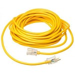 Southwire 14 GA SJEOOW Yellow 25 ft. Polar/Solar Standard Outdoor Extension Cord