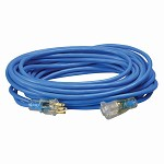 Southwire 14 GA SJTW Premium Blue 50 ft. High Visibility Low Temp Outdoor Extension Cord