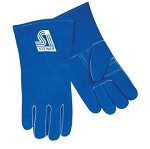 Steiner Industries Standard Shoulder Split Cowhide Stick Welding Gloves with ThermoCore - Left Hand Only