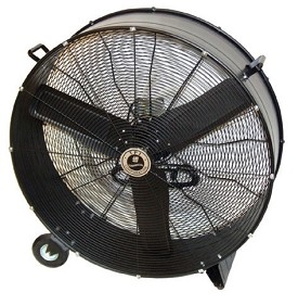 "TPI 36"" Aluminum Commercial Direct Drive Portable Blower Fan"
