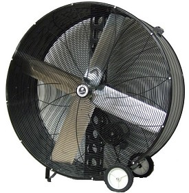 "TPI 48"" Commercial Belt Drive Portable Blower Fan"