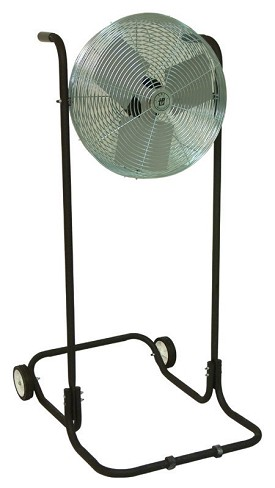 "TPI 18"" Industrial Workstation High Stand Fan"